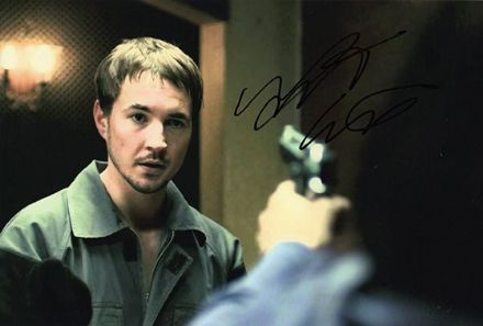 Martin Compston, signed 12x8 inch photo.(3)
